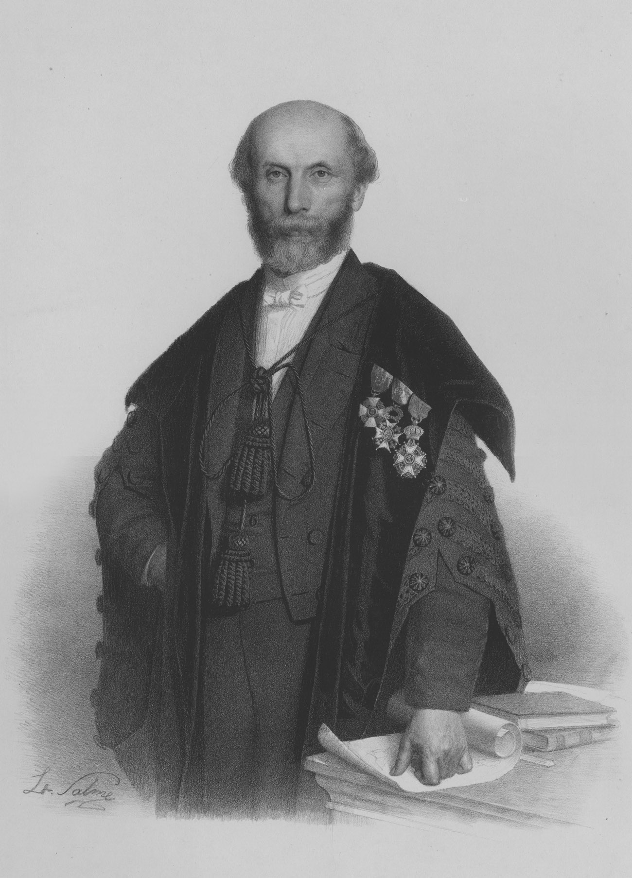 Louis Trasenster (1816-1887), recteur de l'Université de Liège