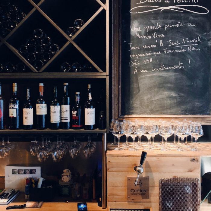 Ma découverte du cépage carménère, au Mundo Vino, wine bar hutois
