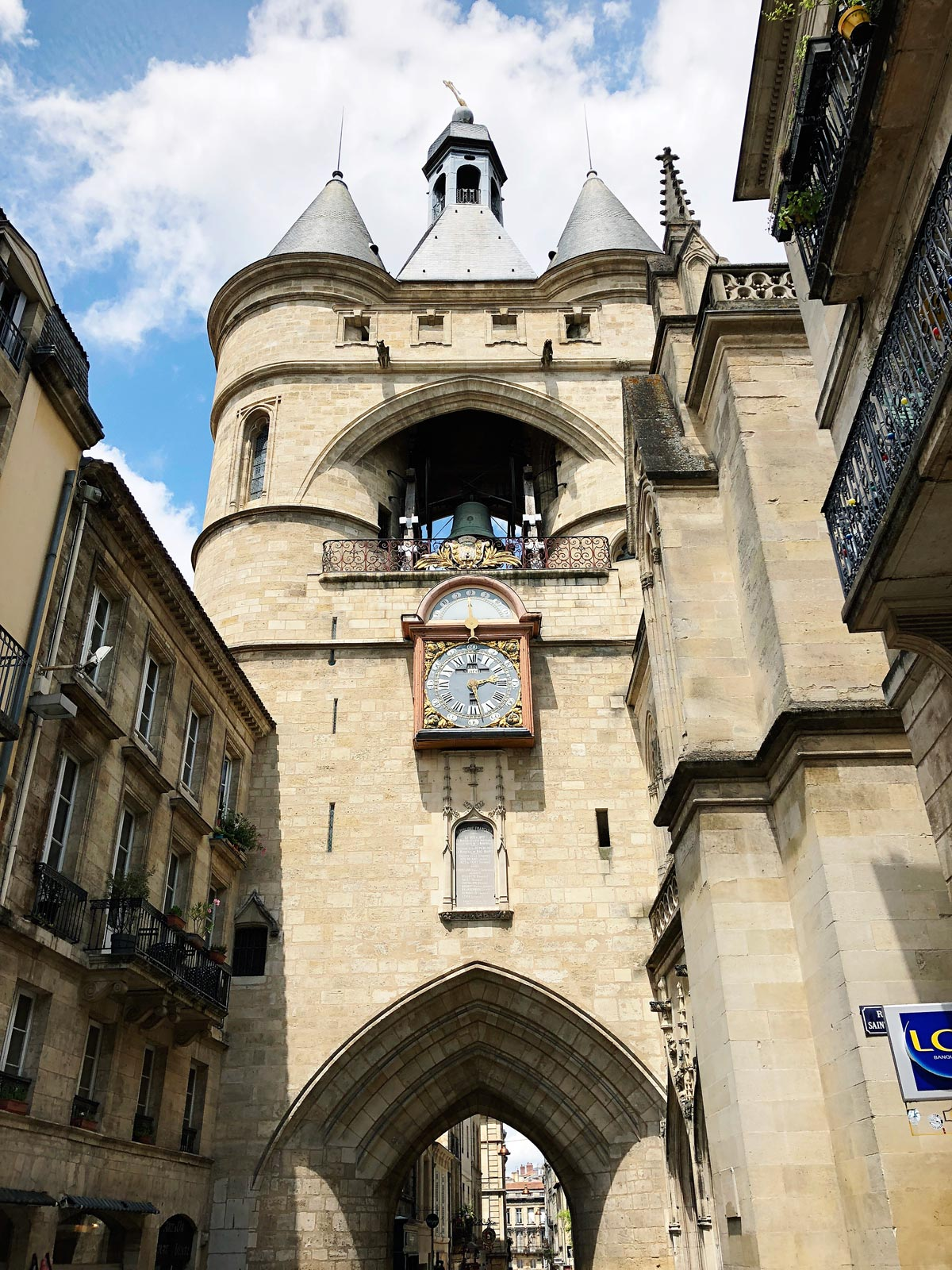 La Grosse Cloche Saint-James à Bordeaux