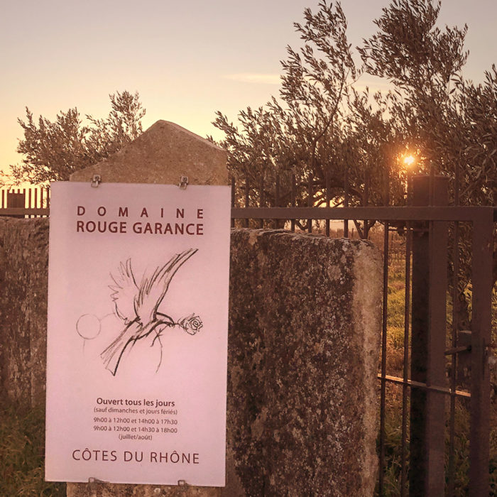 « Rouge Garance », des vins natures de Saint-Hilaire d'Ozilhan