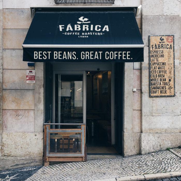 Fábrica, specialty coffee à Lisbonne